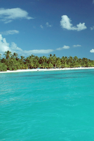 Saona island dominican republic iphone wallpaper - Dominican republic wallpaper ...