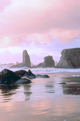 Face Rock State Park Oregon IPhone Wallpaper