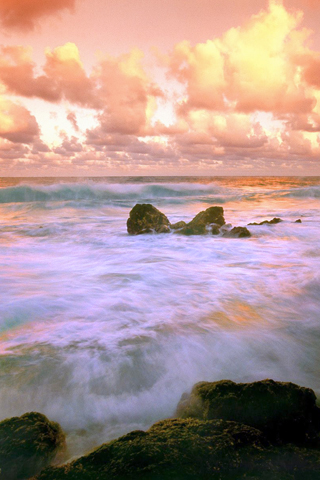 Hawaii Tides iPhone Wallpaper
