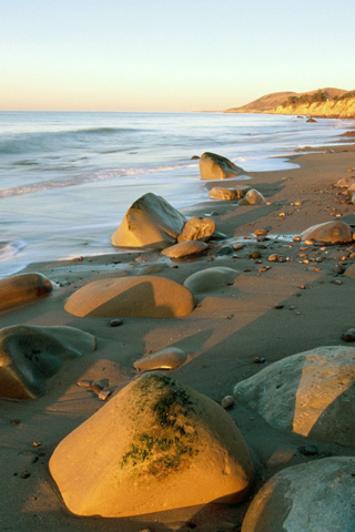 Gaviota State Park, California iPhone Wallpaper