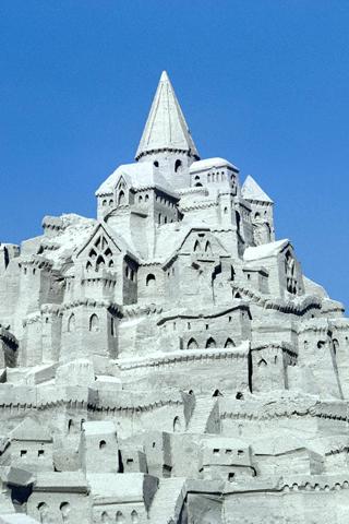 Grand Castle, San Diego iPhone Wallpaper