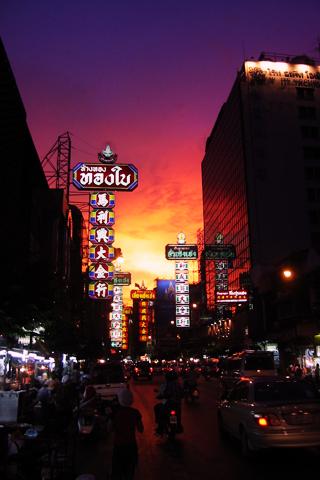Chinatown, Bangkok iPhone Wallpaper
