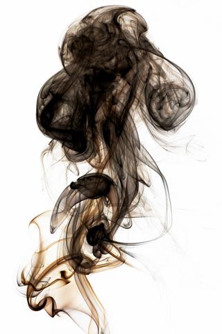 Black Smoke Iphone Wallpaper Idesign Iphone
