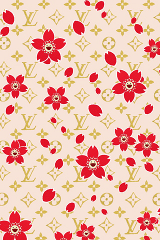 Louis Vuitton Print iPhone Wallpaper