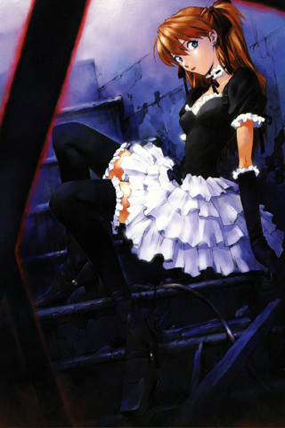 French Maid iPhone Wallpaper
