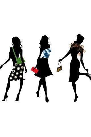 Fashionista Girls iPhone Wallpaper