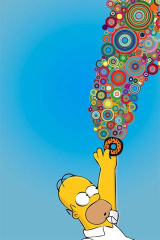 Homer Simpson Iphone Wallpaper Idesign Iphone