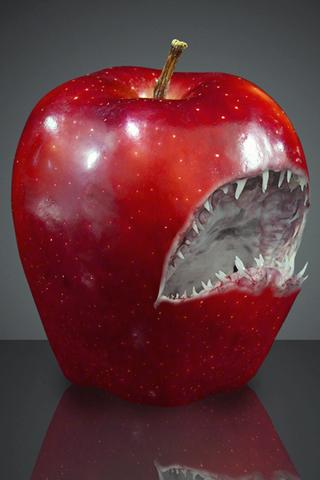 Monster Apple iPhone Wallpaper