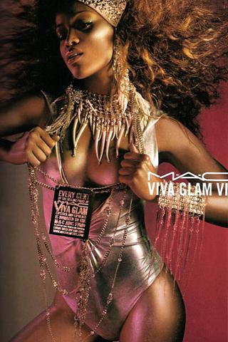 Eve for Viva Glam iPhone Wallpaper