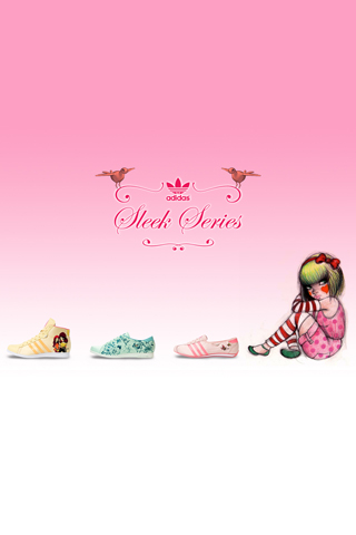 Adidas Fafi Sneakers iPhone Wallpaper
