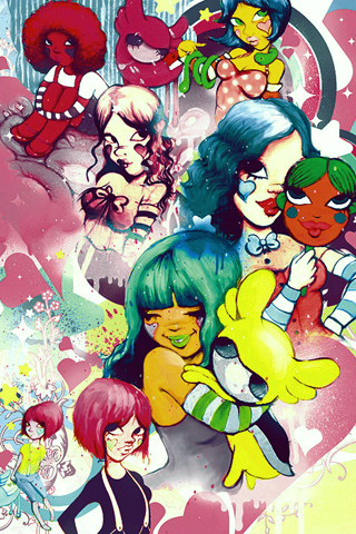 Fafi Girls iPhone Wallpaper