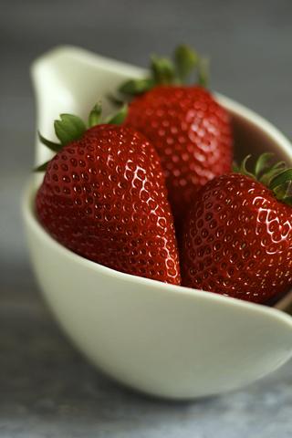 Strawberries iPhone Wallpaper