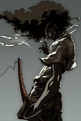 Afro Samurai iPhone Wallpaper | iDesign iPhone