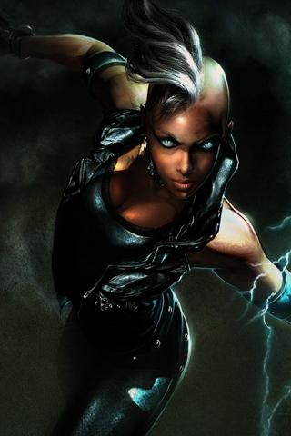 Storm - X-Men iPhone Wallpaper