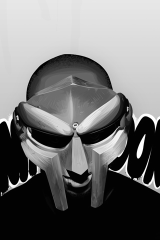 MF Doom - Fan Art iPhone Wallpaper