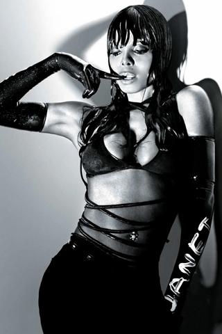 Janet Jackson - Discipline iPhone Wallpaper