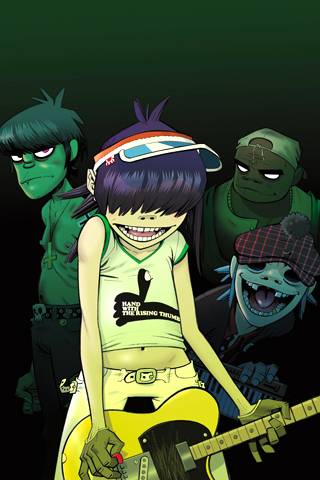 Gorillaz Iphone Wallpaper Search Results Iphone Wallpaper