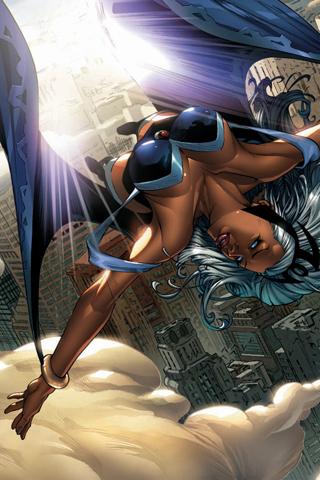 X-Men - Storm iPhone Wallpaper