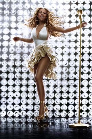 Mariah Carey iPhone Wallpaper