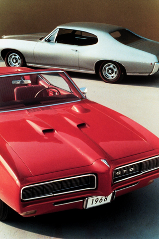 1968 Pontiac GTO iPhone Wallpaper