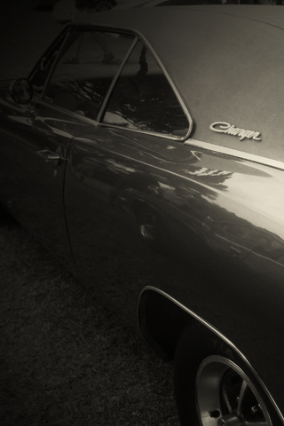 1969 Dodge Charger iPhone Wallpaper