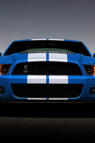 Ford Shelby Mustang GT500 iPhone Wallpaper