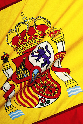 Spain National Football Team Logo iPhone Wallpaper