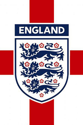 England National Football Team Logo iPhone Wallpaper