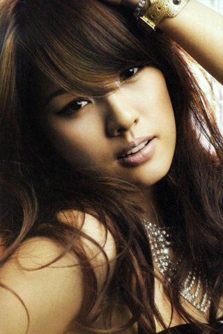 Hyori Lee iPhone Wallpaper