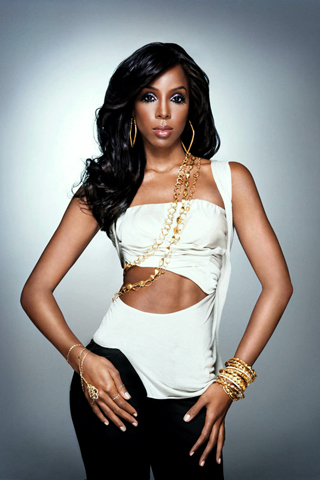 Kelly Rowland iPhone Wallpaper