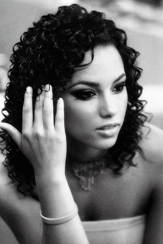 Alicia Keys iPhone Wallpaper
