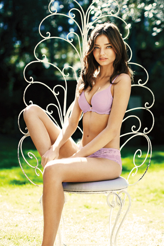 Miranda Kerr iPhone Wallpaper