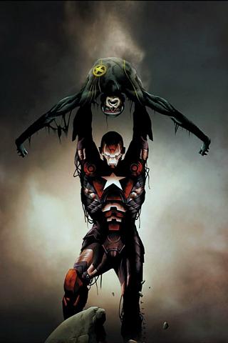 Dark Avengers/Uncanny X-Men: Utopia #1 iPhone Wallpaper