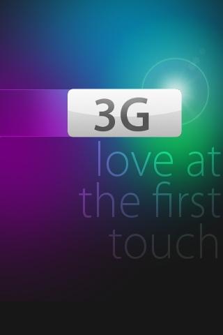 3G Love iPhone Wallpaper