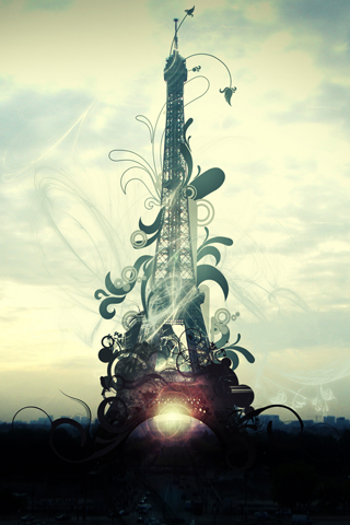 Eifel Tower iPhone Wallpaper