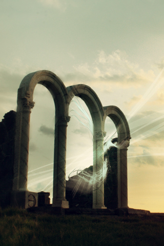 Heavens Gate iPhone Wallpaper