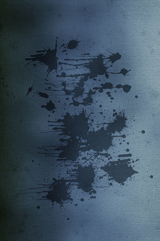 Wall Splatters iPhone Wallpaper