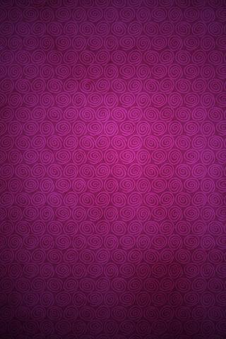 Purple Swirls iPhone Wallpaper