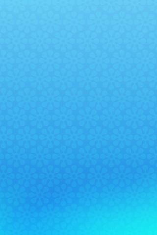 Blue Flowers iPhone Wallpaper
