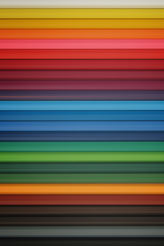 Crayons iPhone Wallpaper