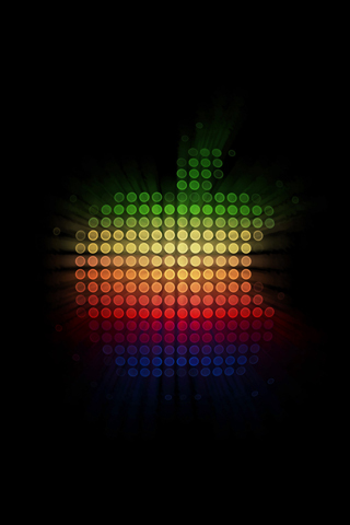apple iphone wallpapers. Retro Apple iPhone Wallpaper