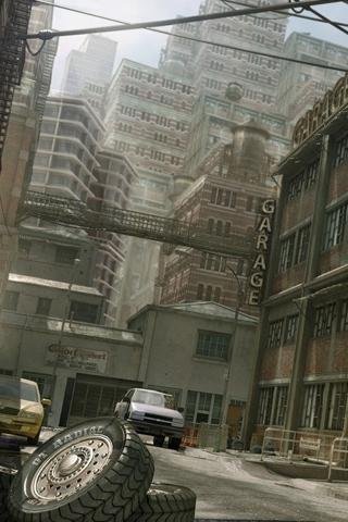 City Angle iPhone Wallpaper