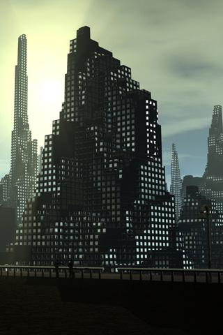 Big Building iPhone Wallpaper