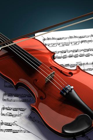 Violin iPhone Wallpaper