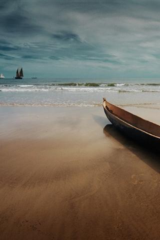 Canoe iPhone Wallpaper