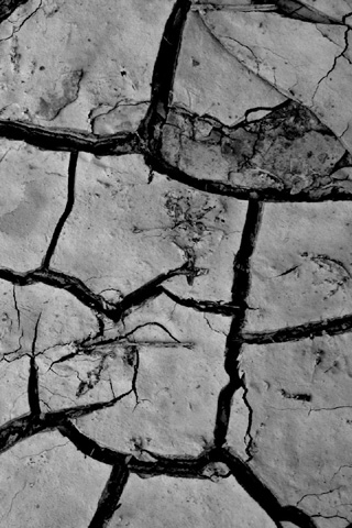 Cracks iPhone Wallpaper