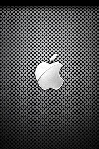 Shiny Apple iPhone Wallpaper