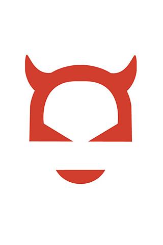 Horned Logo iPhone Wallpaper