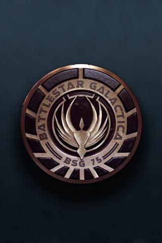 Battlestar Galactica iPhone Wallpaper