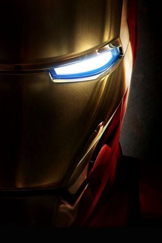 Ironman Closeup iPhone Wallpaper